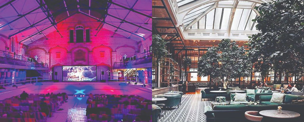 We work with Victoria Baths and The Refuge