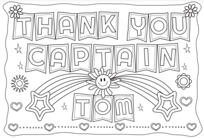 Thank you Captain Tom Poster